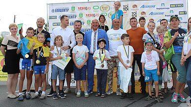 Компанія «Адамант» підтримала переможців велогонки «Darnytsya city ride»