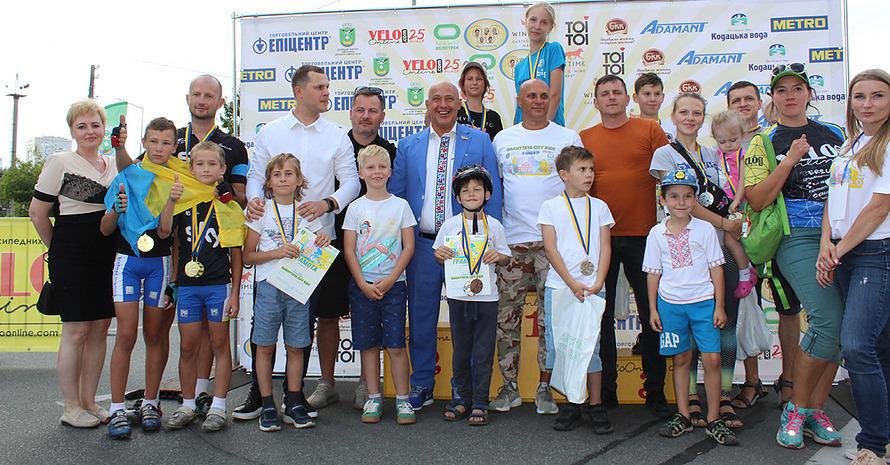 Компания «Адамант» поддержала победителей велогонки «Darnytsya city ride»